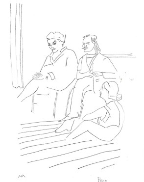 Greenwich Theatre Group drawings (28)